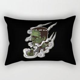 Vaping Monster Illustration | Horror Vape Rectangular Pillow