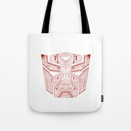 Autobot Tech Red Tote Bag