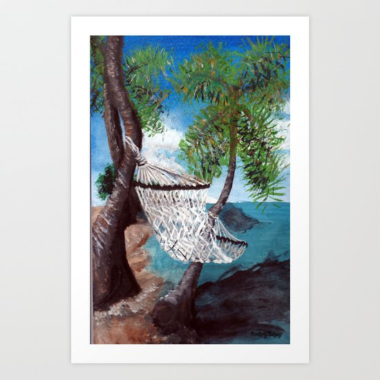 Relaxation Art Print