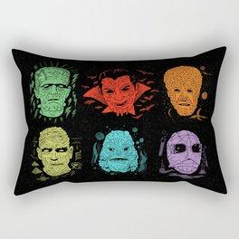 Old Grotesque Rectangular Pillow