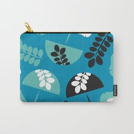 Mushrooms and flowers Carry-All Pouch