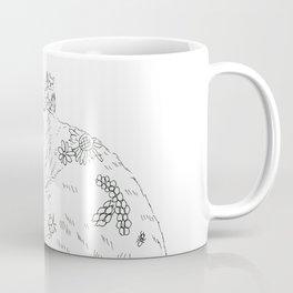 cat and piano Coffee Mug