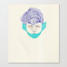 Untitled Head Canvas Print