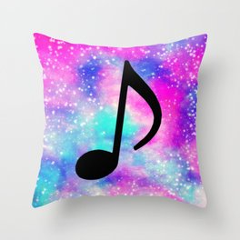 Music 605 Throw Pillow