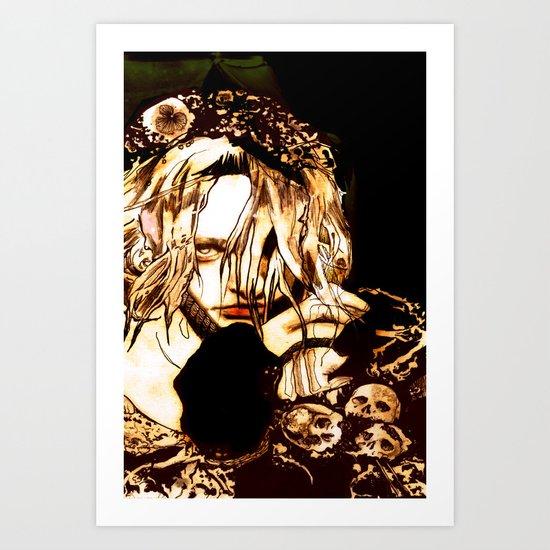 """Milk & Honey"" Art Print"