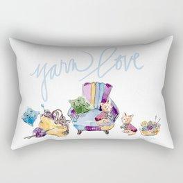 Yarn Love Rectangular Pillow