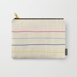 Abstract Retro Lines #1 Carry-All Pouch