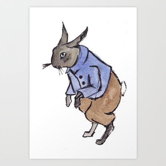 Rabbit Redux Art Print