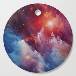 Misterious Space Cutting Board