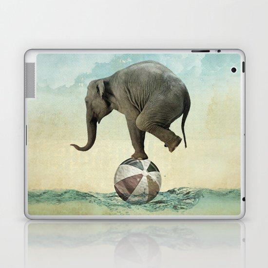 Elephant at Sea Laptop & iPad Skin