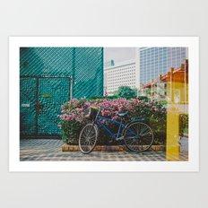 Singapore Art Print