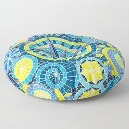 Mosaic Pinwheels Floor Pillow