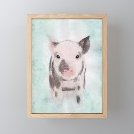 Piglet Framed Mini Art Print