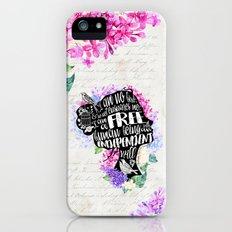 Jane Eyre - No Bird Slim Case iPhone (5, 5s)