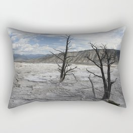 Mammoth Hot Spring  Terrace Rectangular Pillow