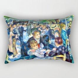 Renoir's Dance at Le Moulin de la Galette Rectangular Pillow