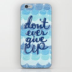 Fight the Blues iPhone & iPod Skin
