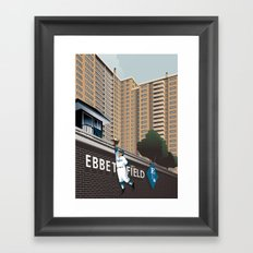 Ther Used to be a Ballpark Here Framed Art Print