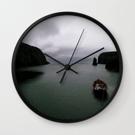 Over the Edge of the World Wall Clock