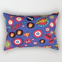 Movie Super Hero logos Rectangular Pillow