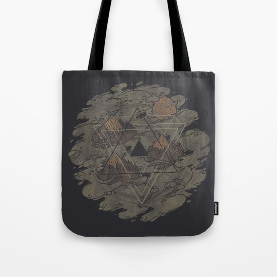 Amidst the Mist Tote Bag