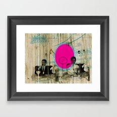 YES Framed Art Print
