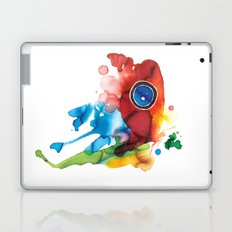 colorful butterfly - 2 Laptop & iPad Skin