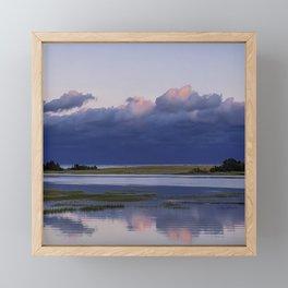 Before the Storm Comes Framed Mini Art Print
