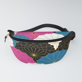 Japanese Chrysanthemum 2 Fanny Pack