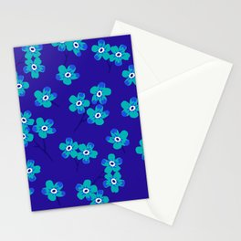 Forget-me-nots - Blue Stationery Cards
