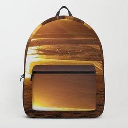 Golden Carmel Sunset Backpack