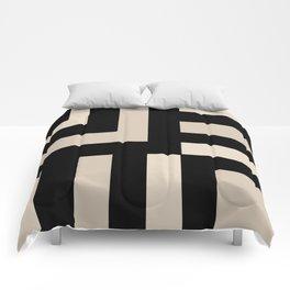 Black and Tan Comforters