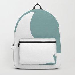 orange fruit green color pastel | elegant Backpack