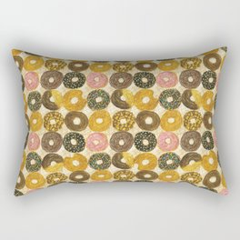 Donuts pattern Rectangular Pillow