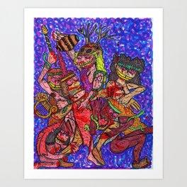 Maeneads Art Print