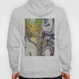 The rivers, acrylic on canvas Hoody