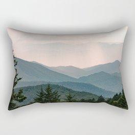 Smoky Mountain Pastel Sunset Rechteckiges Kissen