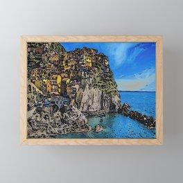World Famous Landmark Italy Framed Mini Art Print