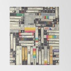 VHS Throw Blanket