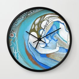 Sanity Over Greed Wall Clock