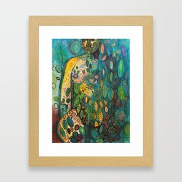 Kissed by the sky Framed Art Print