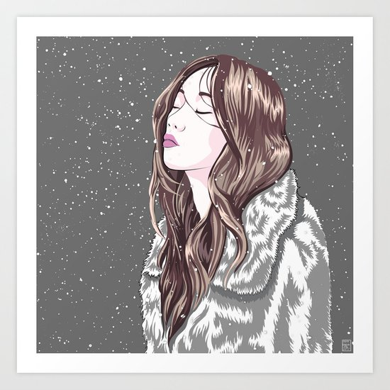 Winter Reverie Art Print