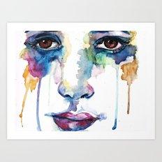 words gone Art Print
