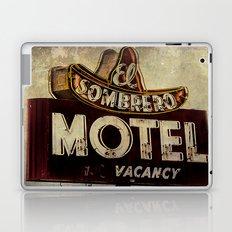Vintage El Sombrero Motel Sign Laptop & iPad Skin
