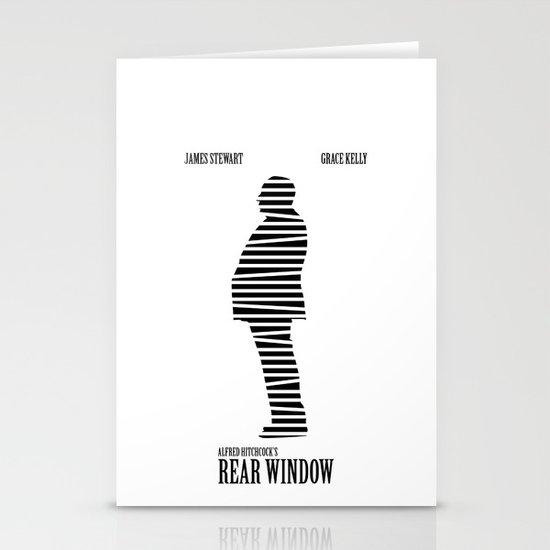 Rear Window Stationery Cards