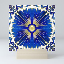 Azulejos - Portuguese Tiles Mini Art Print