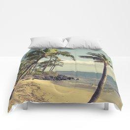 Maui Lu Beach Kihei Maui Hawaii Comforters