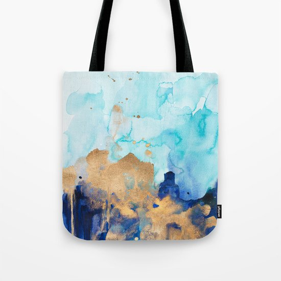 Abstract watercolor Tote Bag