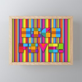 High Five Framed Mini Art Print