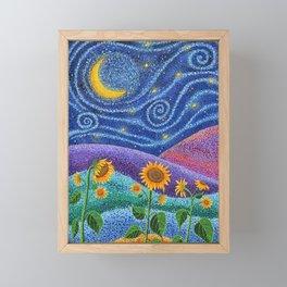 Dream Fields Framed Mini Art Print